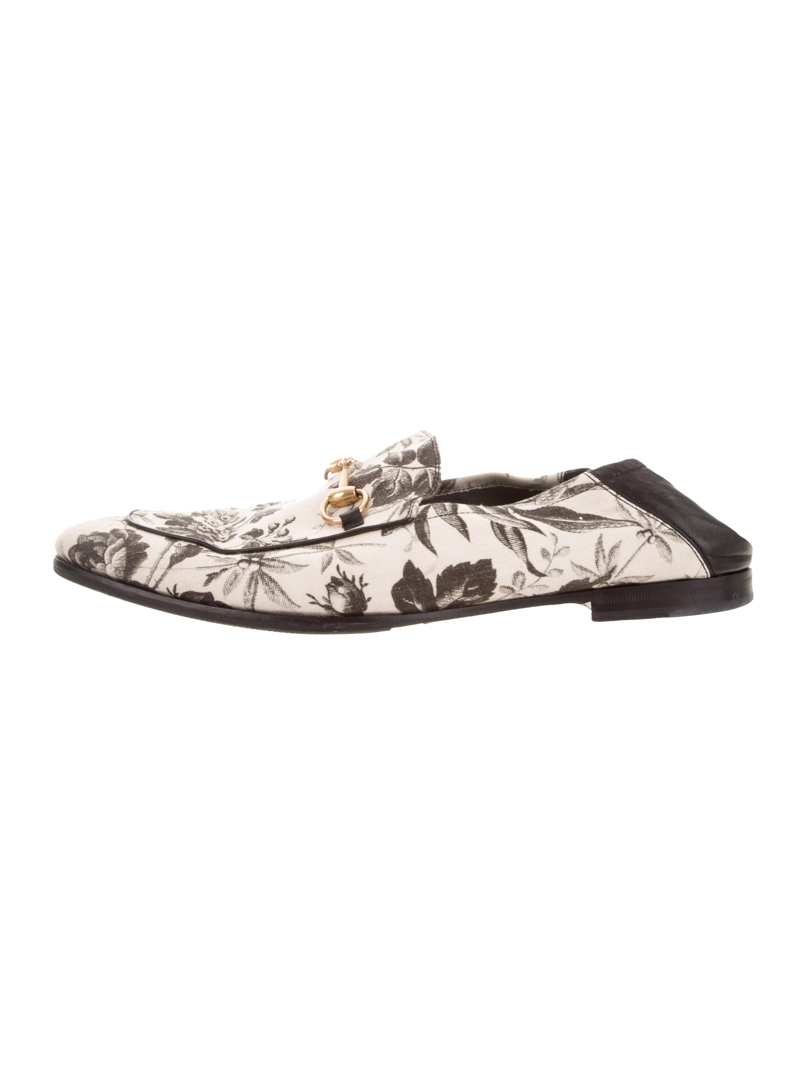 b64c0daeeb8 Gucci Brixton Floral Horsebit Loafers - Shoes - GUC256525