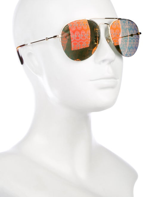 fb337f5fd23 Gucci Holographic Aviator Sunglasses w  Tags - Accessories ...