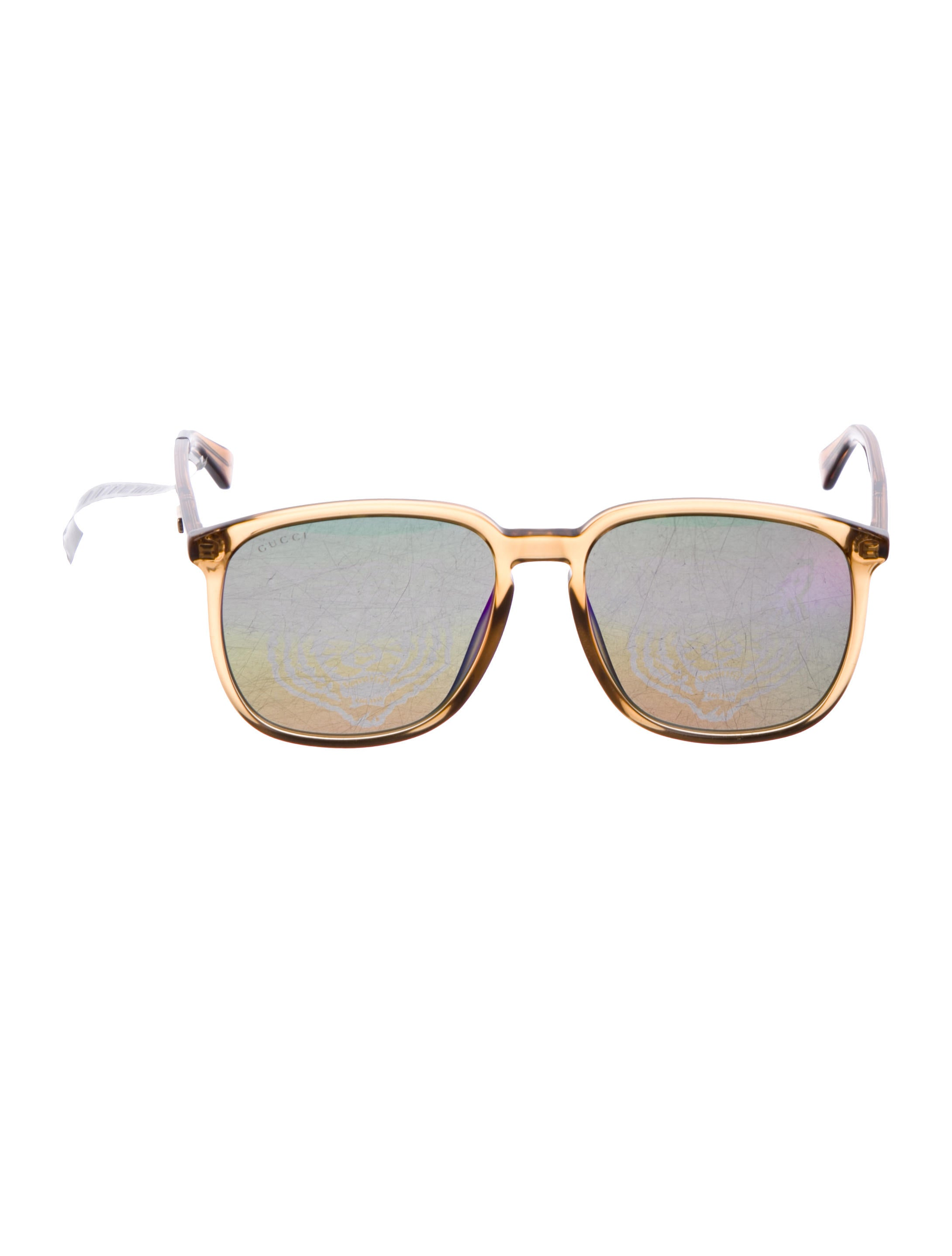 acff482d18c Gucci Holographic Oversize Sunglasses w  Tags - Accessories ...