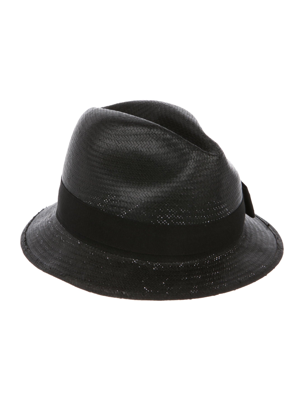 81f666609774c Gucci Straw Fedora Hat - Accessories - GUC257267