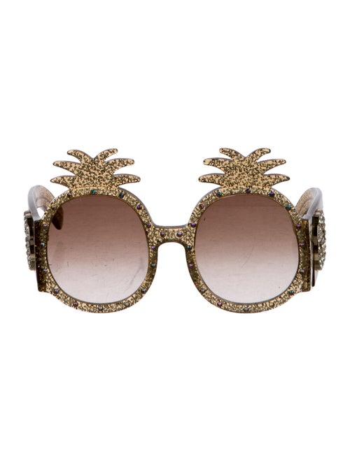 395817e0a9032 Gucci GG Pineapple Sunglasses - Accessories - GUC260231
