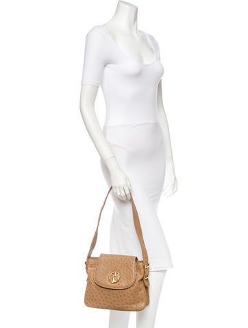 1973 Ostrich Shoulder Bag