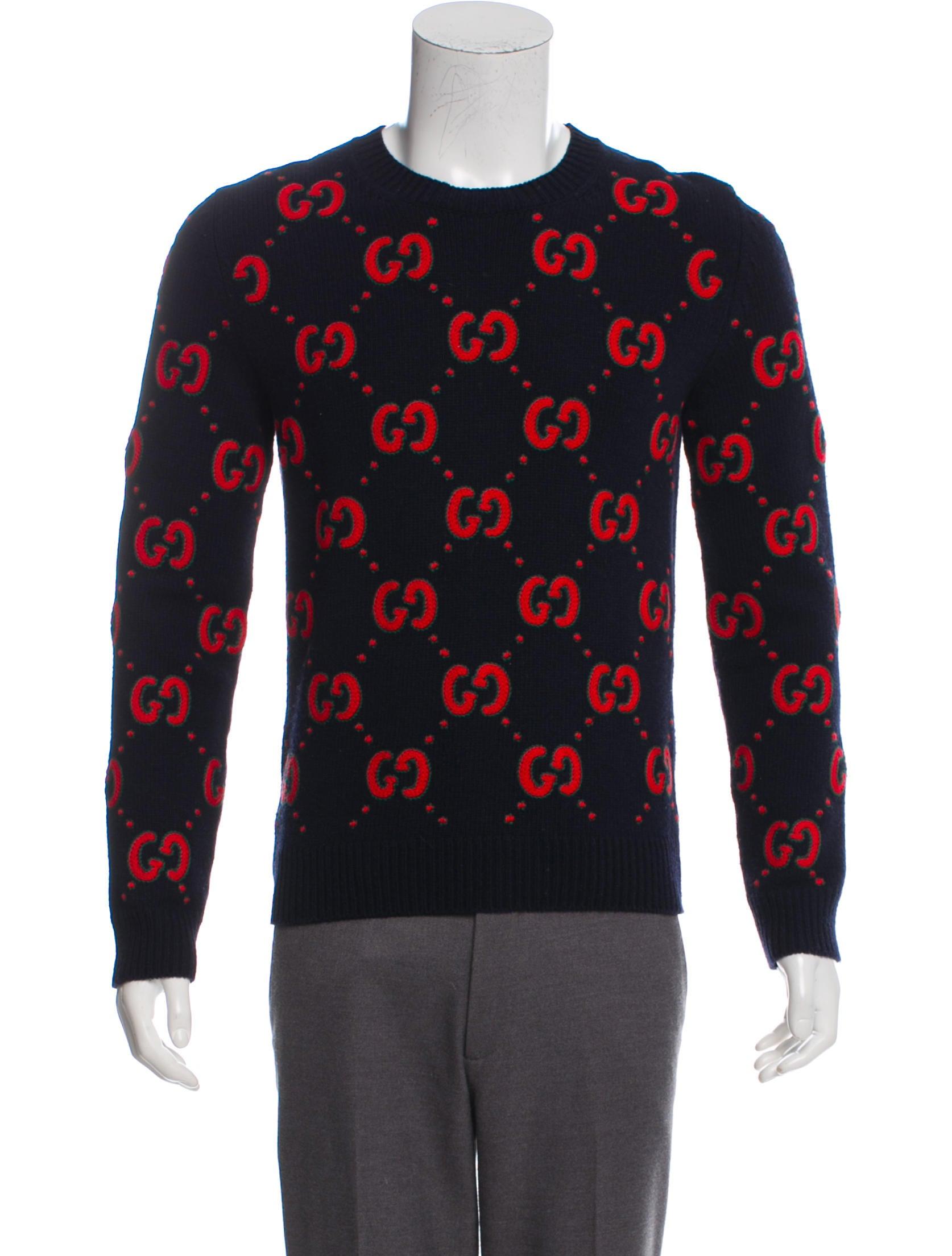 08addd36 Gucci Animalium Wool Sweater - Clothing - GUC260604 | The RealReal