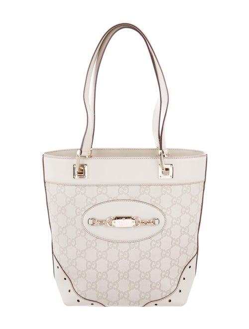 7f1a64e8d64a Gucci Small Guccissima Punch Tote - Handbags - GUC260655 | The RealReal