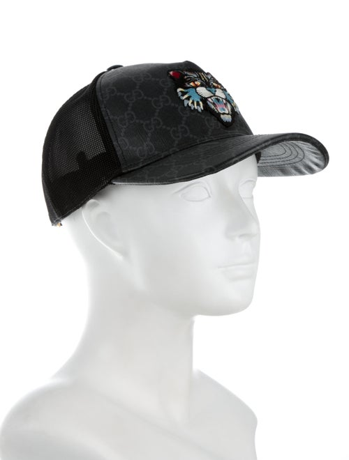 6046395b22ae74 Gucci GG Supreme Angry Cat Baseball Cap - Accessories - GUC262280 ...