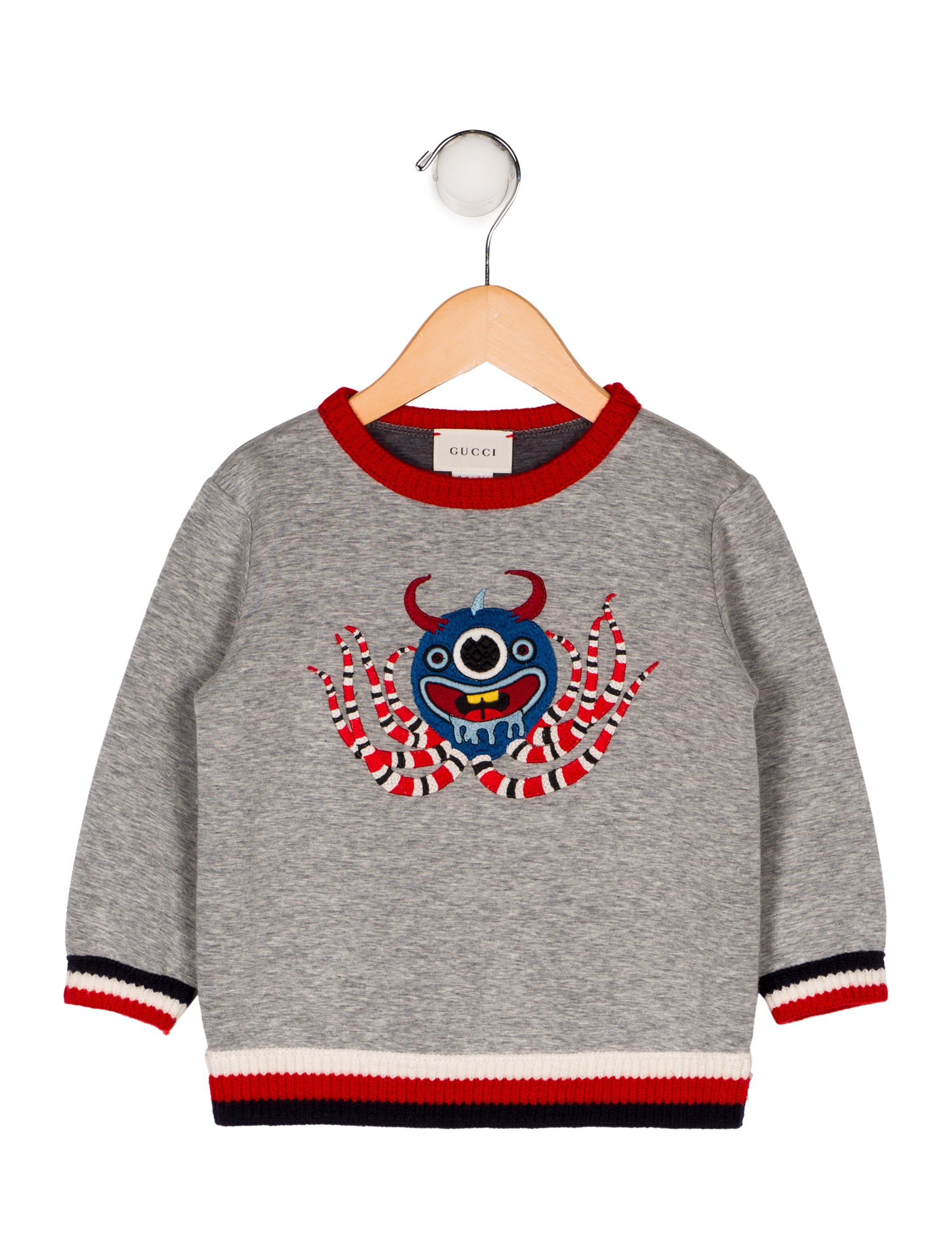 ec124c7f9 Gucci Boys' Monster Sweater - Boys - GUC262309 | The RealReal