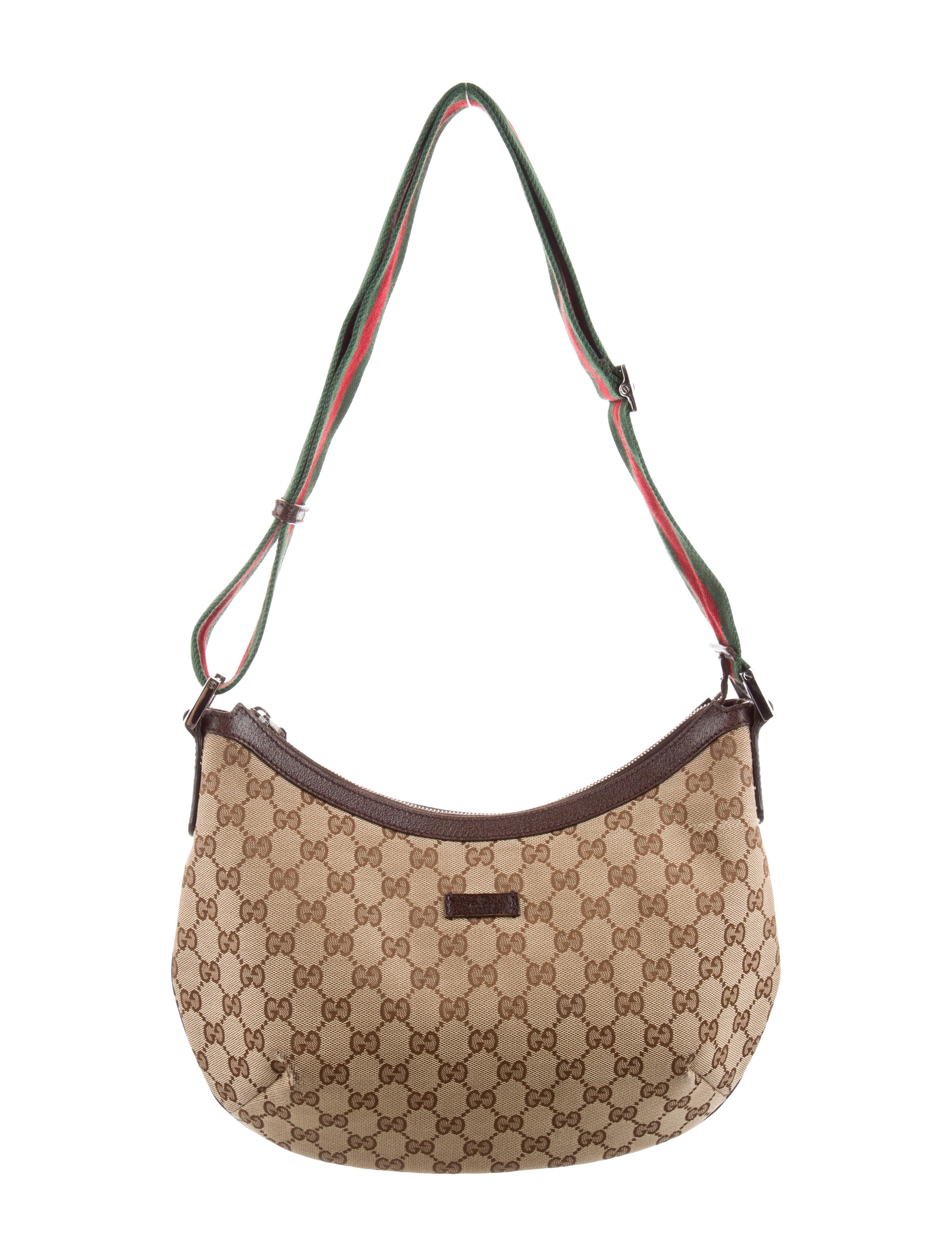 189d97450a6 Gucci Original GG Dipped Canvas Messenger Bag - Handbags - GUC263402 ...