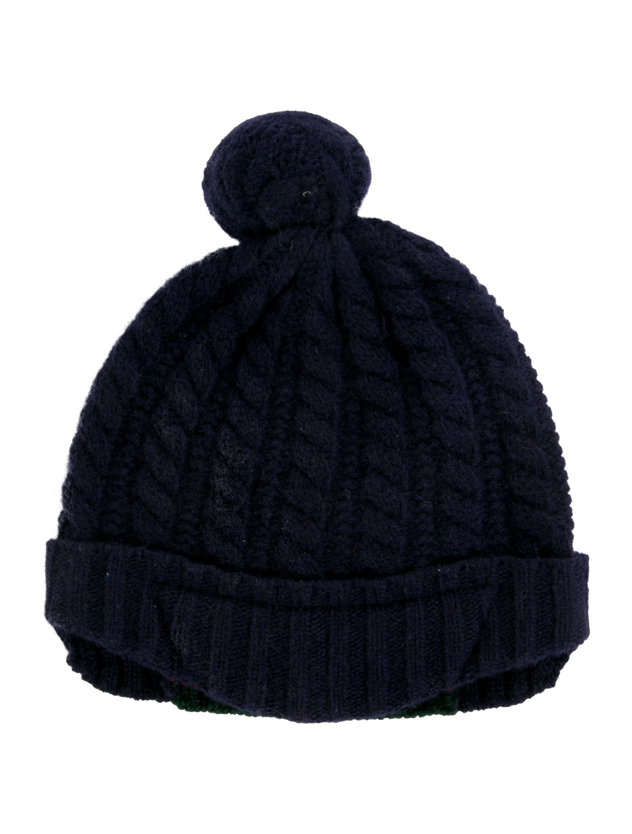 Gucci Boys  Virgin Wool Cable Knit Hat w  Tags - Boys - GUC265556 ... 8a8070c662e