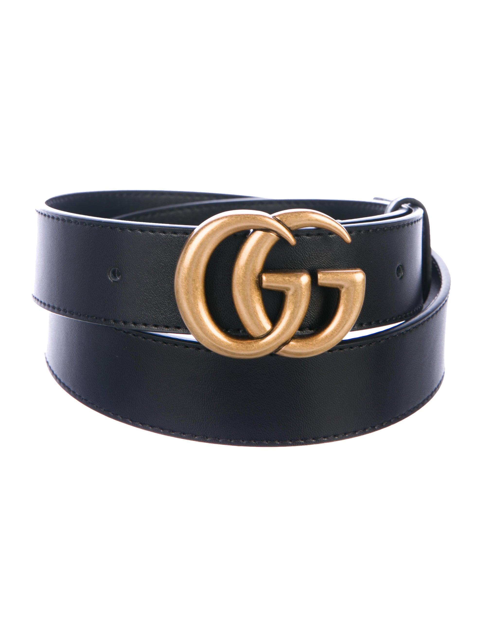 342eda40b68 Gucci GG Leather Belt - Accessories - GUC266198