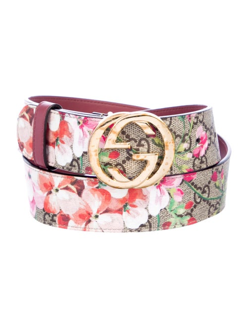 856edd04c98 Gucci GG Supreme Blooms Belt - Accessories - GUC266275