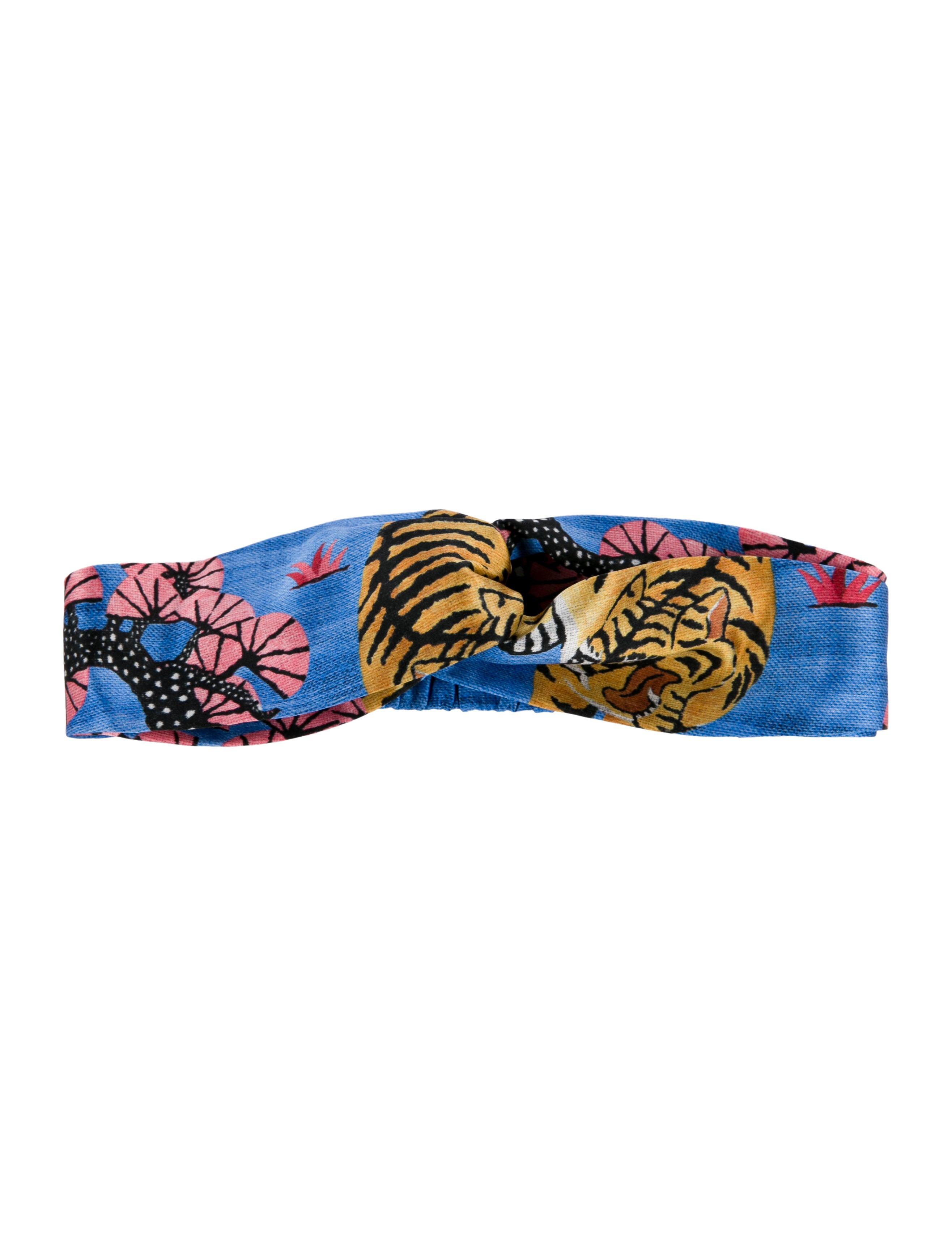281030d2bcb Gucci Bengal Tiger Silk GG Headband - Accessories - GUC266443