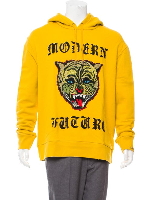 e2d49bc7a Gucci Modern Future Wildcat Hoodie - Clothing - GUC267493 | The RealReal