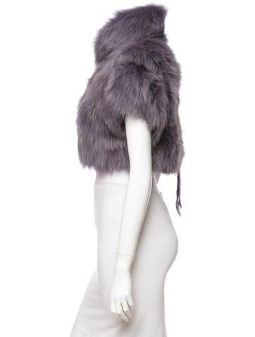 Fox Fur Bolero