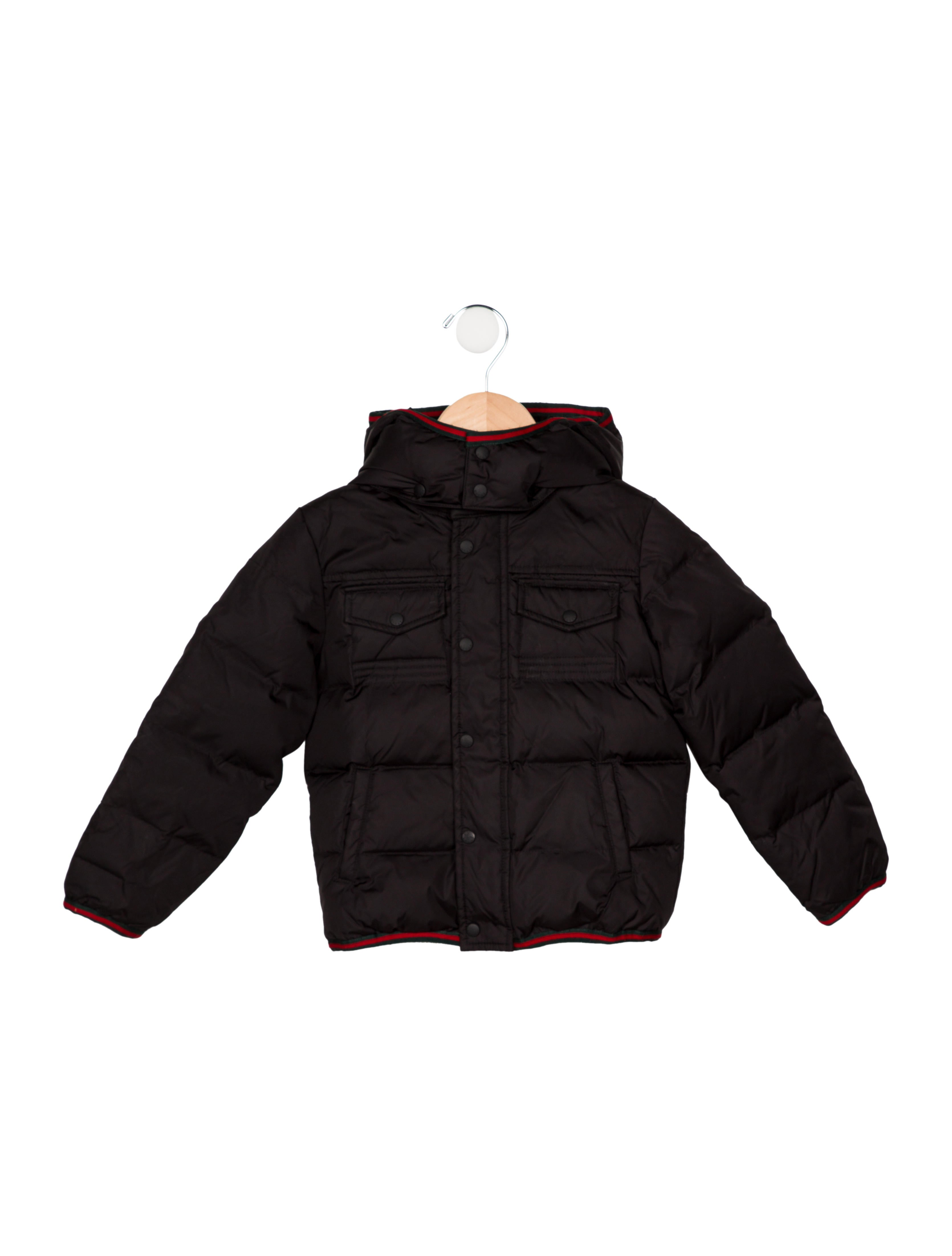 d523b0848 Gucci Boys' Hooded Puffer Coat - Boys - GUC268773 | The RealReal