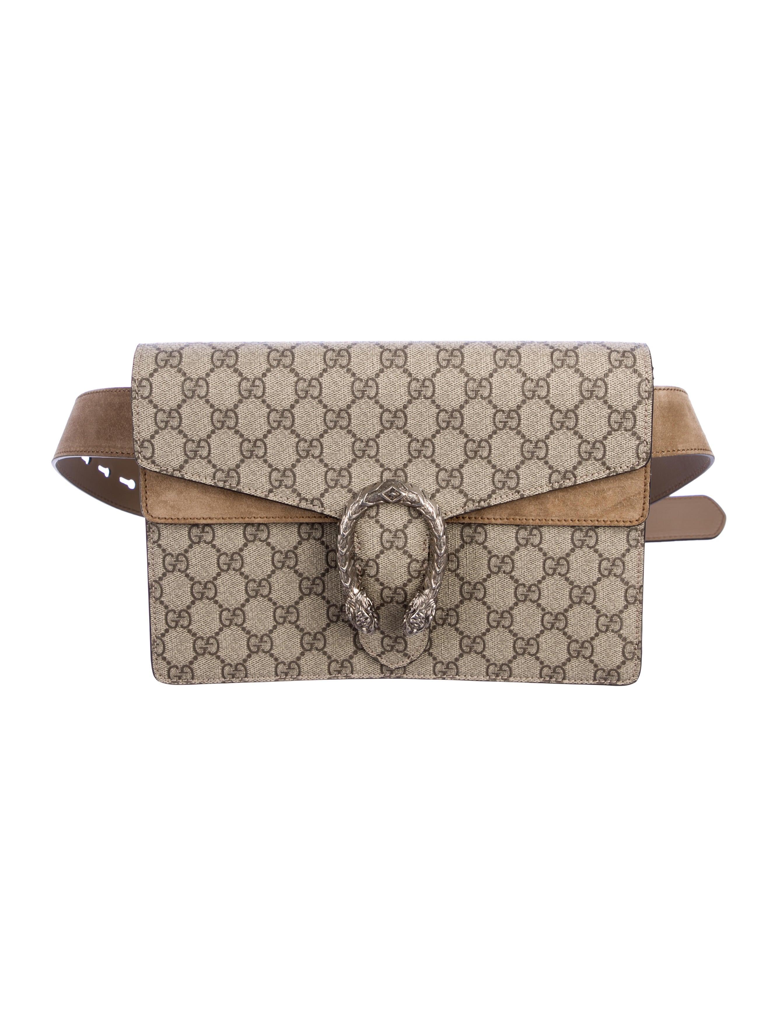 8e557e082 Gucci Dionysus GG Supreme Belt Bag - Handbags - GUC269334 | The RealReal