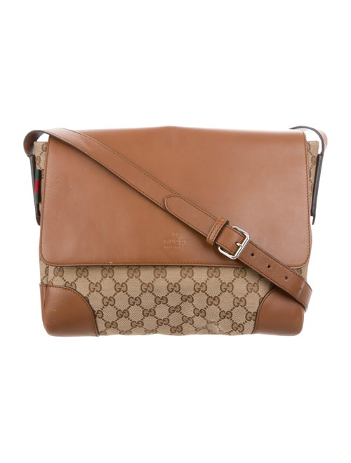 924ae1999ea Gucci GG Canvas Original Messenger Bag - Bags - GUC269843