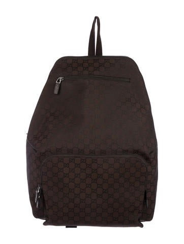 e08a022b5c8 Gucci GG Nylon Backpack - Bags - GUC271839   The RealReal