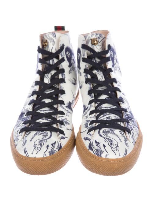 d952063499d Gucci x Disney 2017 Sea Storm Print High-Top Sneakers - Shoes ...