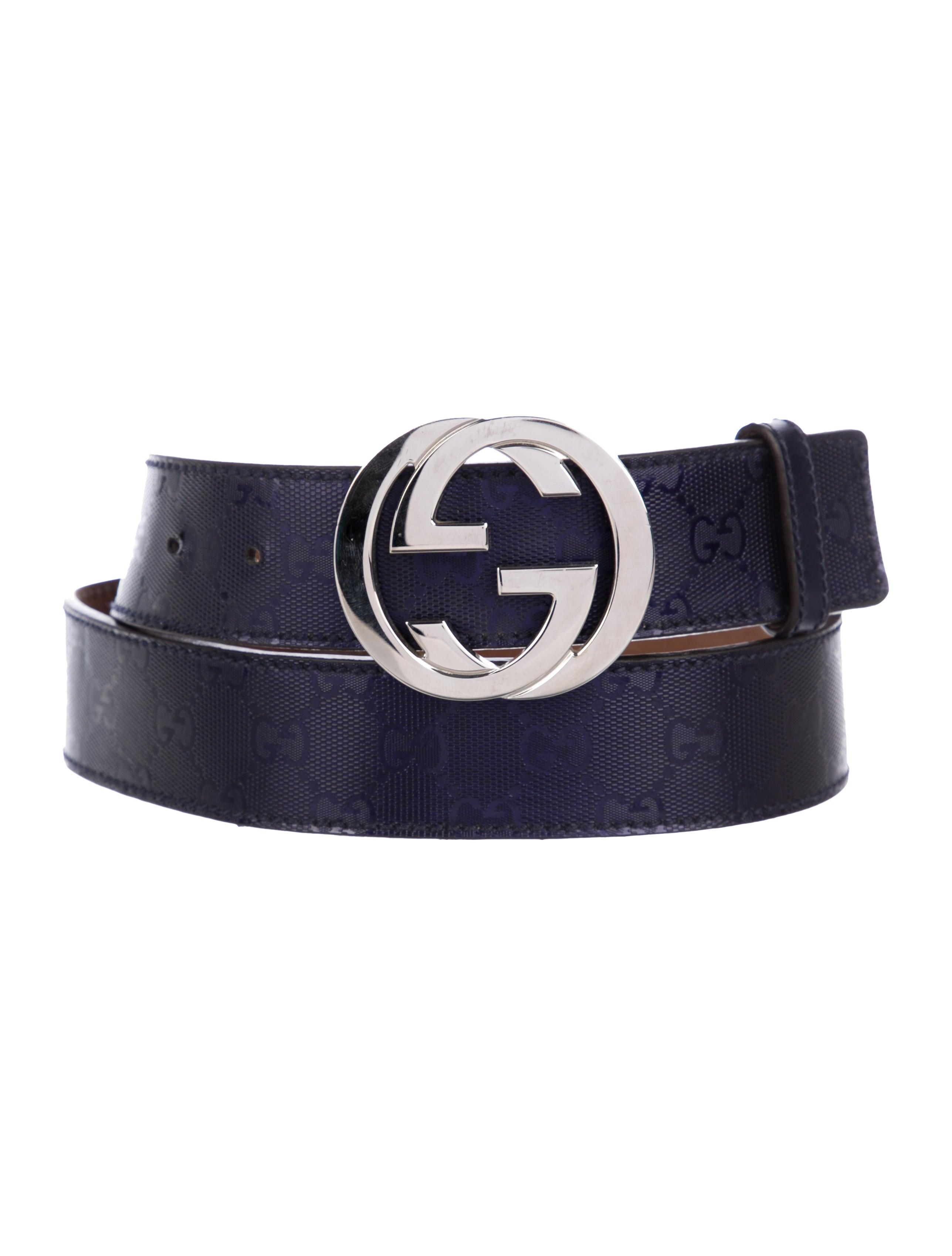7ce5967bcc7 Gucci GG Imprimé Interlocking GG Belt - Accessories - GUC276388 ...