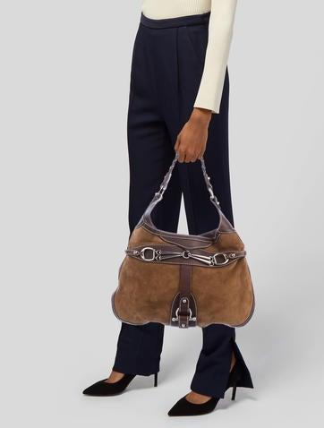 0914266b12 Leather Hobo.  325.00 · Gucci
