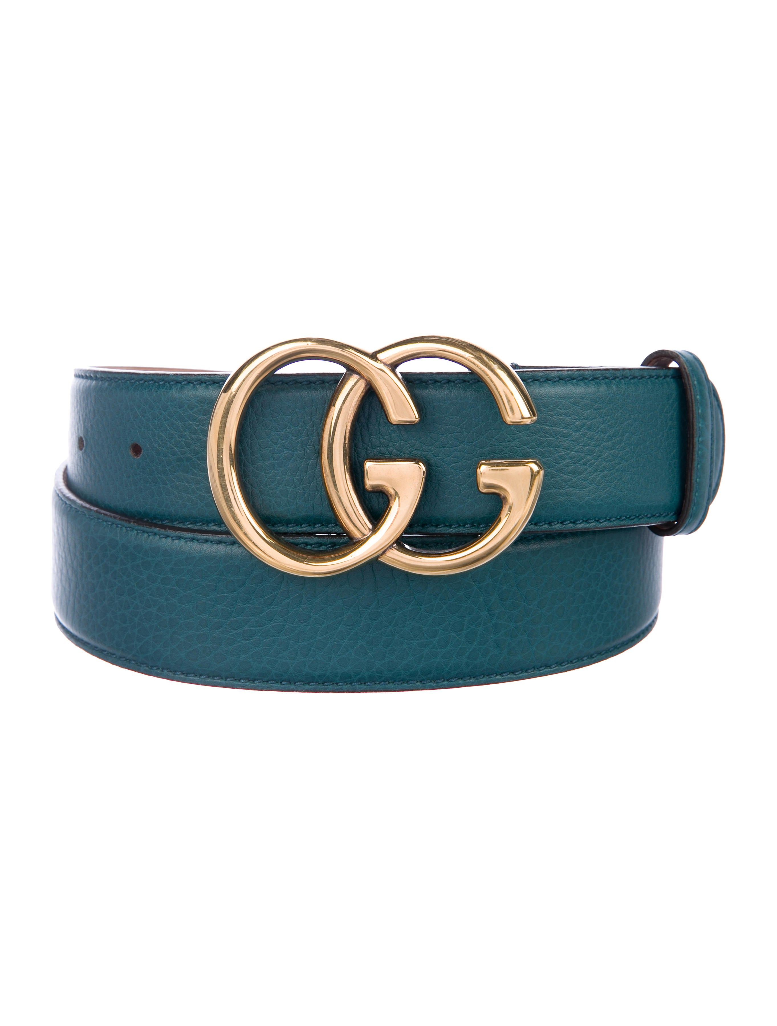 7fa9c6ef403 Gucci GG Marmont Leather Belt - Accessories - GUC277581