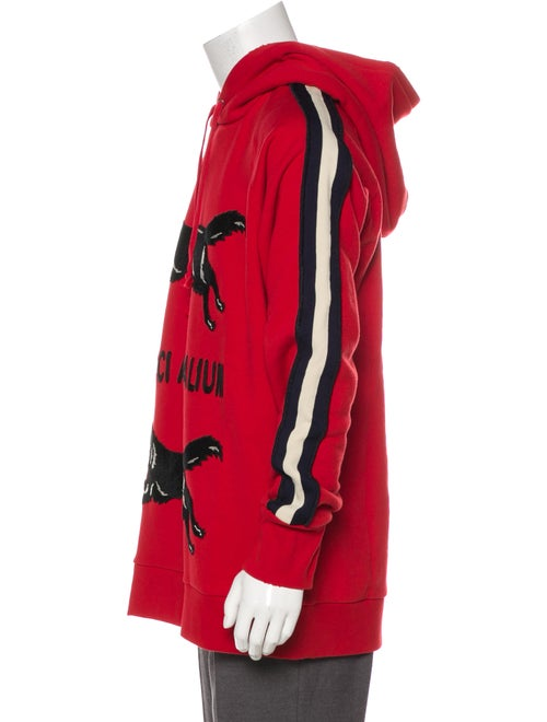 e2d6ceb0b07 Gucci 2017  Gucci Animalium  Double Wolves Hoodie w  Tags - Clothing ...