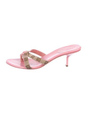 d95e11bf1d9 Gucci. GG Thong Sandals
