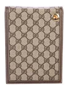 37801c5239cb8 Gucci. Vintage GG Plus Notepad Cover