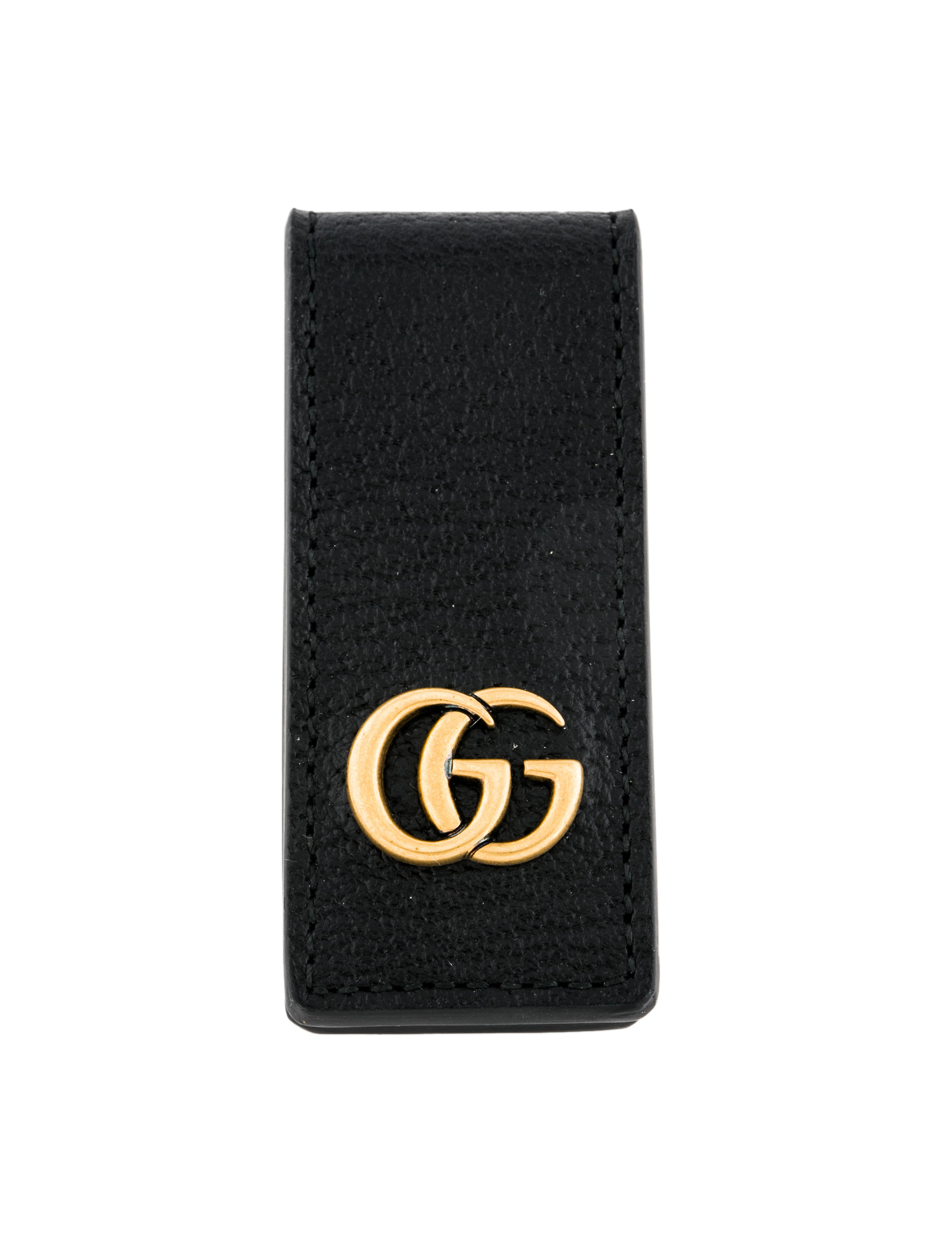 9943ac93f Gucci 2018 GG Marmont Leather Money Clip w/ Tags - Accessories ...