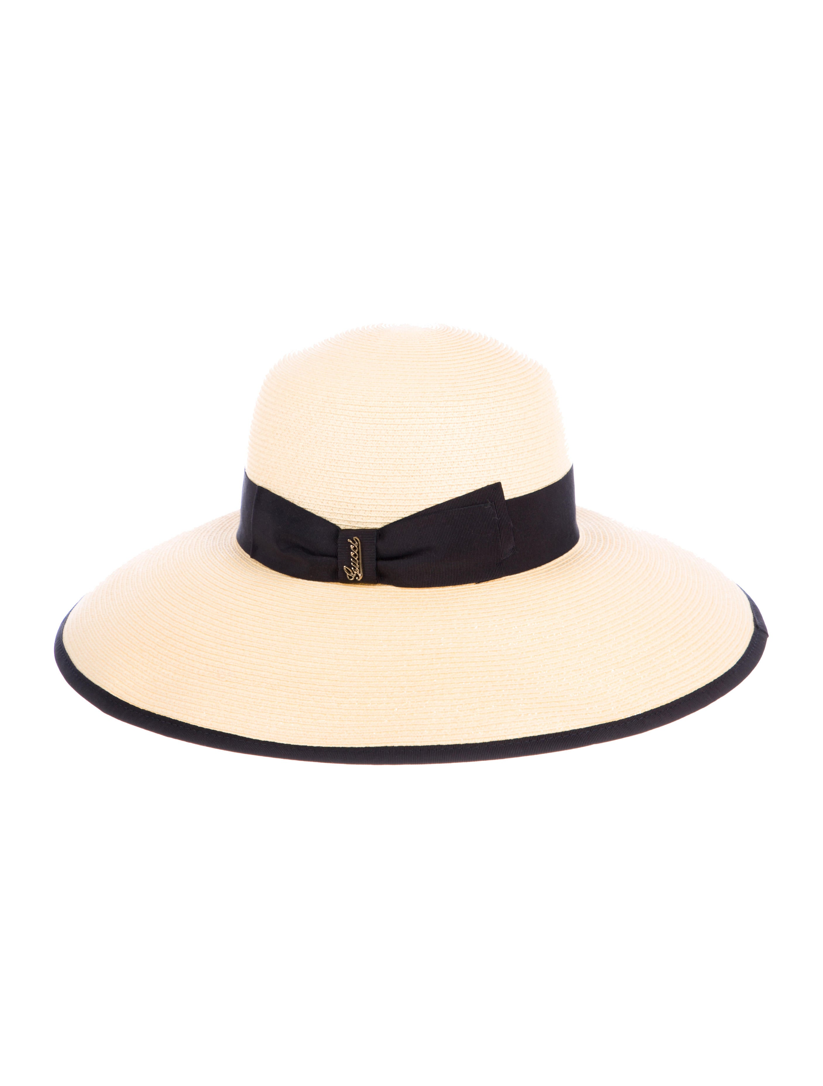 6a0b8bb583b Gucci Straw Wide-Brim Hat w  Tags - Accessories - GUC283144