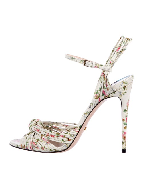 e7fd20f5a Gucci 2017 Allie Leather Sandals - Shoes - GUC283426