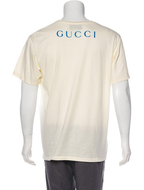 2e4e8762 Gucci Oversize Paramount Logo T-Shirt - Clothing - GUC283643 | The ...
