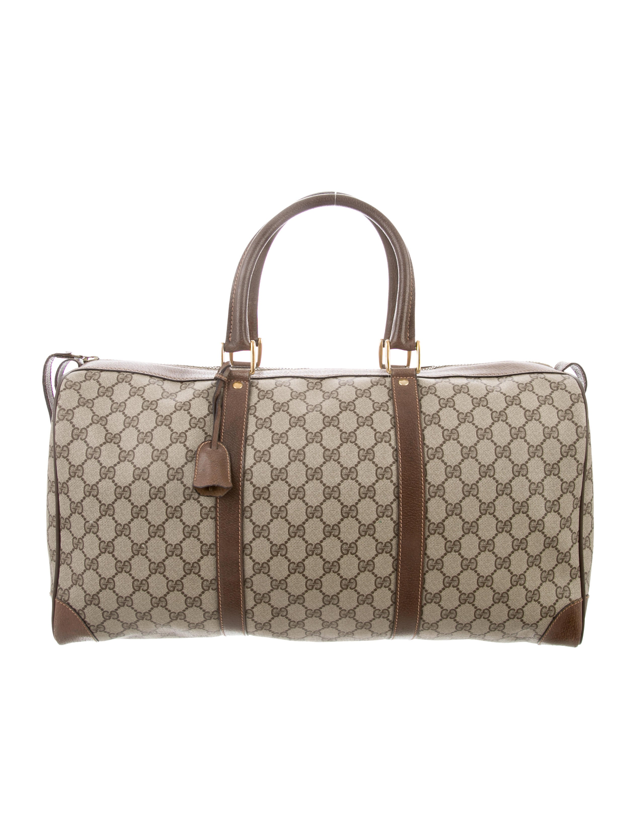 Gucci Vintage GG Plus Duffle Bag - Handbags - GUC284604  5caa504d59b6