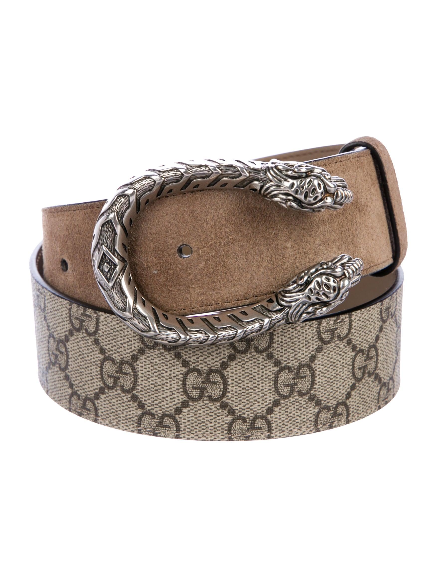 89299a67bb6 Gucci Dionysus GG Supreme Belt - Accessories - GUC285376