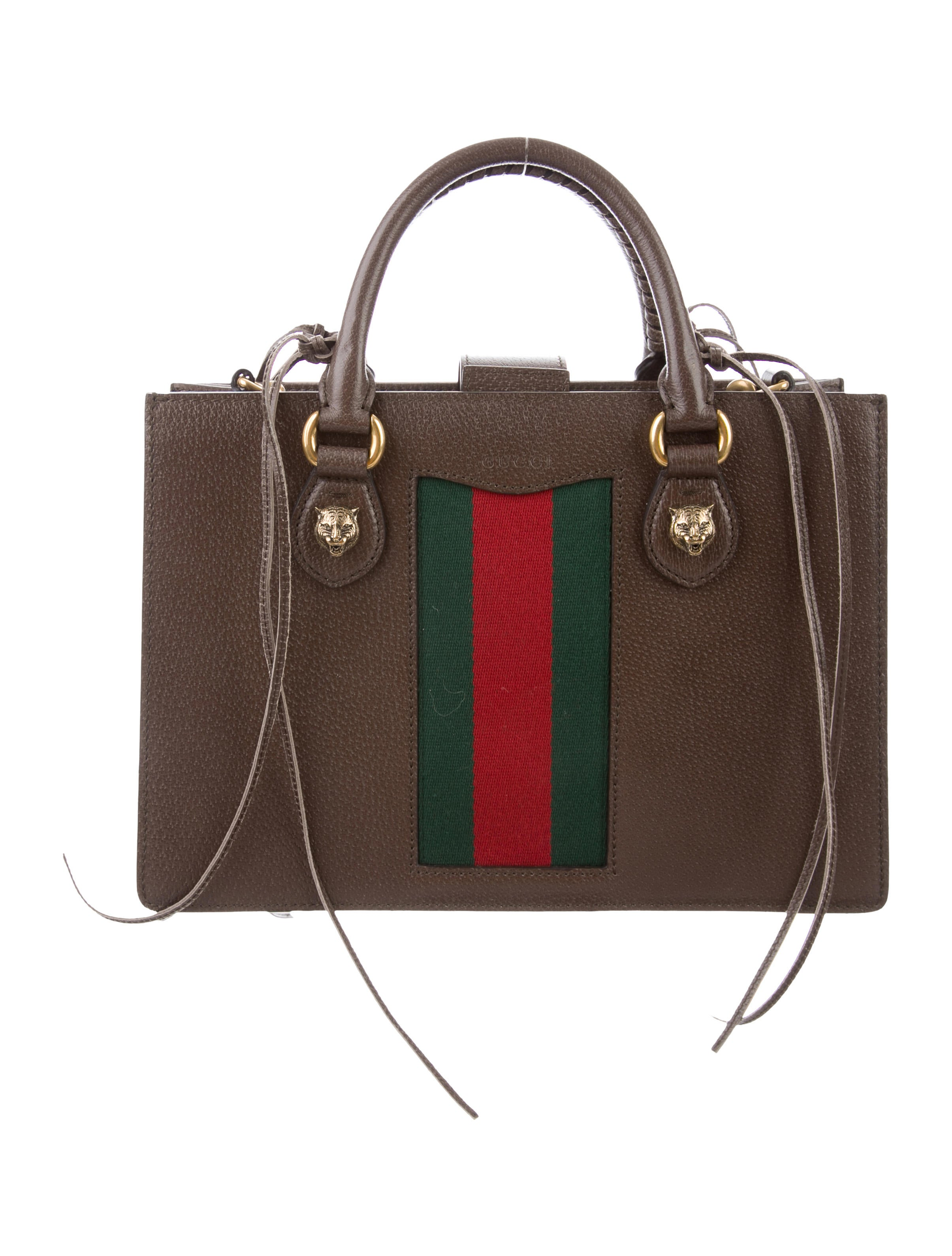 Web Animalier Top Handle Tote by Gucci