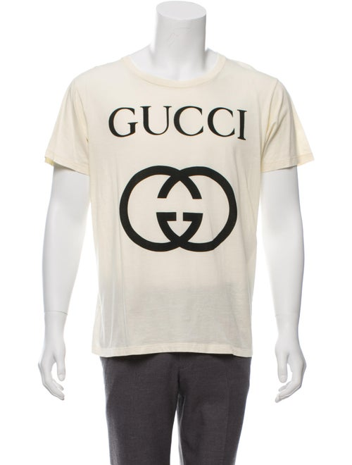 952320d7 Gucci Interlocking GG Print T-Shirt w/ Tags - Clothing - GUC285906 ...
