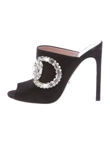 fdead5e1e56 Gucci. Maxime Embellished Horsebit Sandals