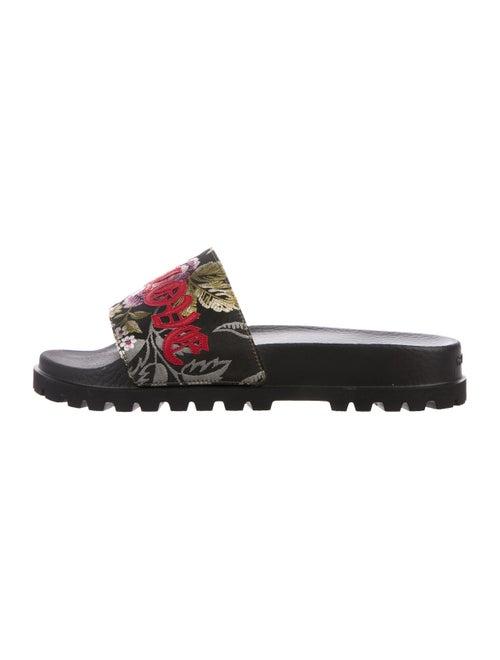 2bd1074956f10 Gucci Pursuit Trek Slide Sandals w  Tags - Shoes - GUC287545