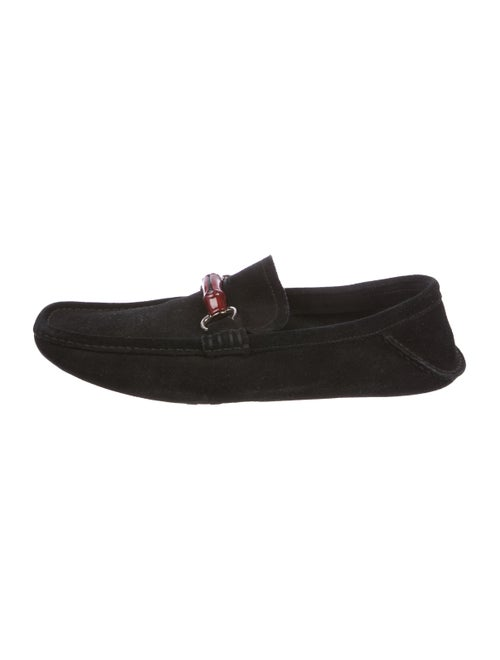 Gucci Horsebit Suede Loafers Shoes Guc288041 The Realreal