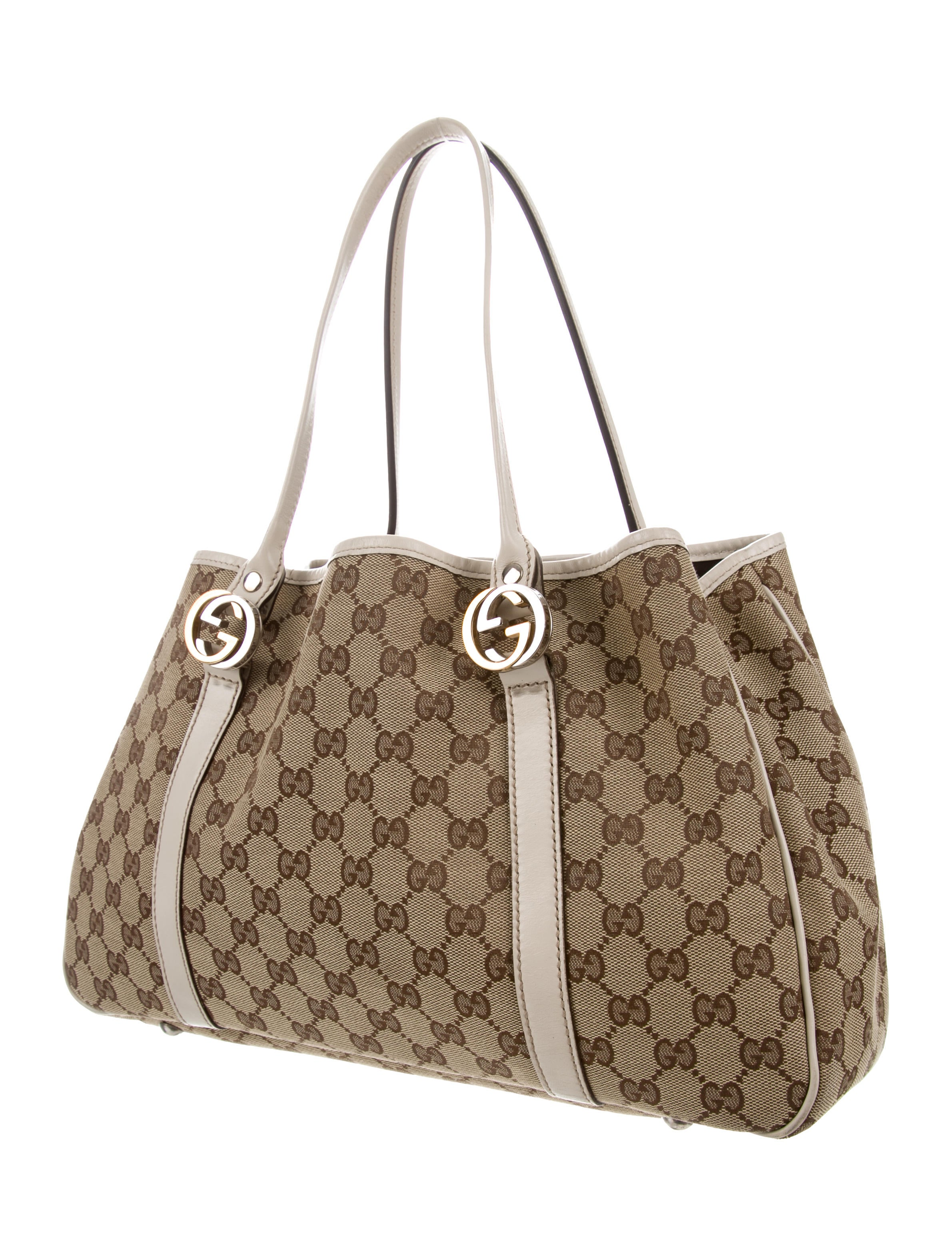 35e72251445 Gucci GG Twins Medium Tote - Handbags - GUC288236