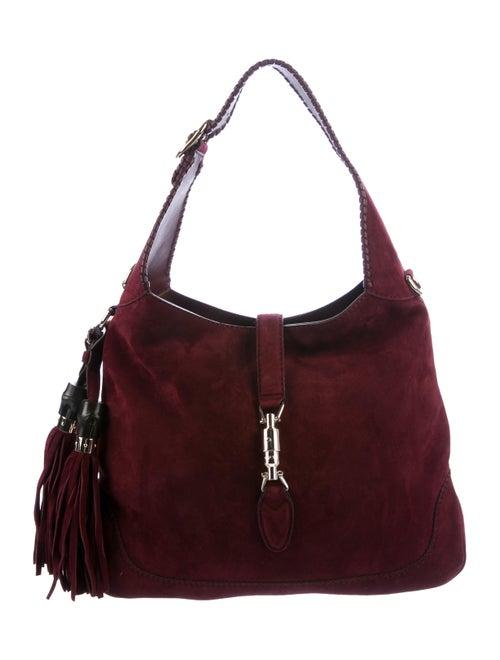 Gucci Suede New Jackie Bag - Handbags - GUC288457  478ddc84c82c8
