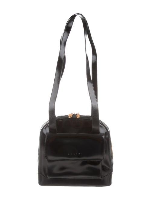 06af3681a945 Gucci Vintage Leather Shoulder Bag - Handbags - GUC289367