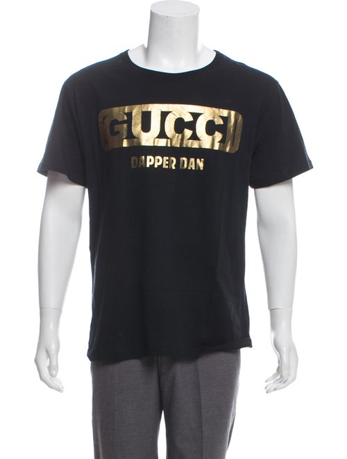 115d2fef Gucci 2018 Dapper Dan Graphic T-Shirt - Clothing - GUC290417 | The ...