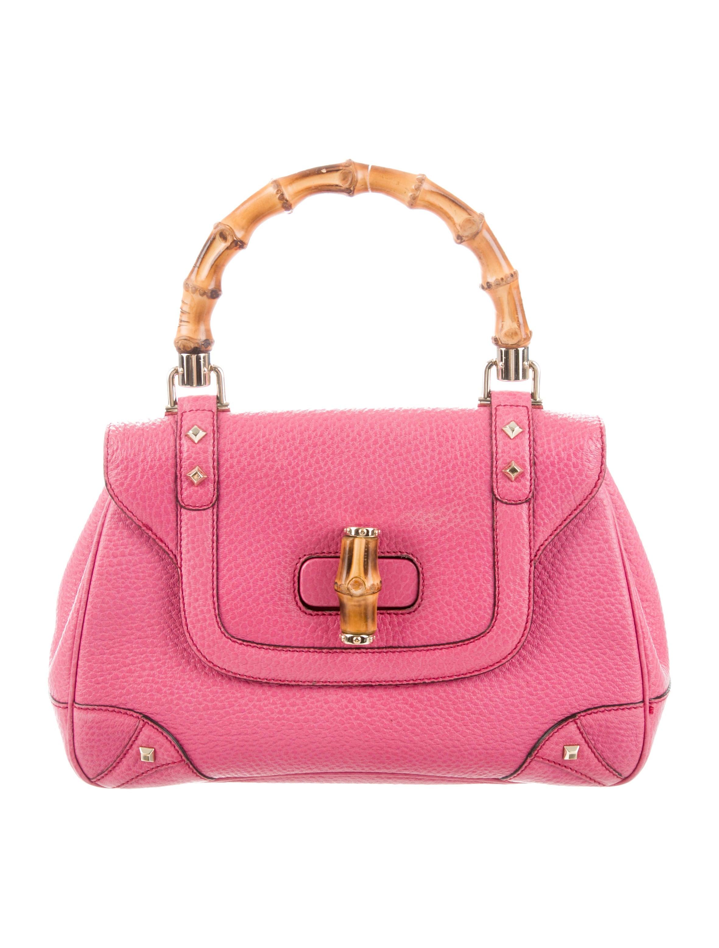 0d371ed33e18 Gucci Bamboo Top Handle Bag - Handbags - GUC290524