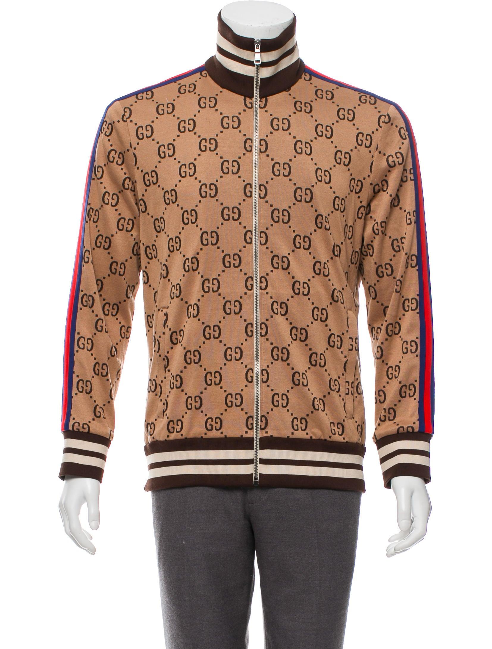 341fc1854 Gucci 2018 GG Jacquard Track Jacket - Clothing - GUC290542