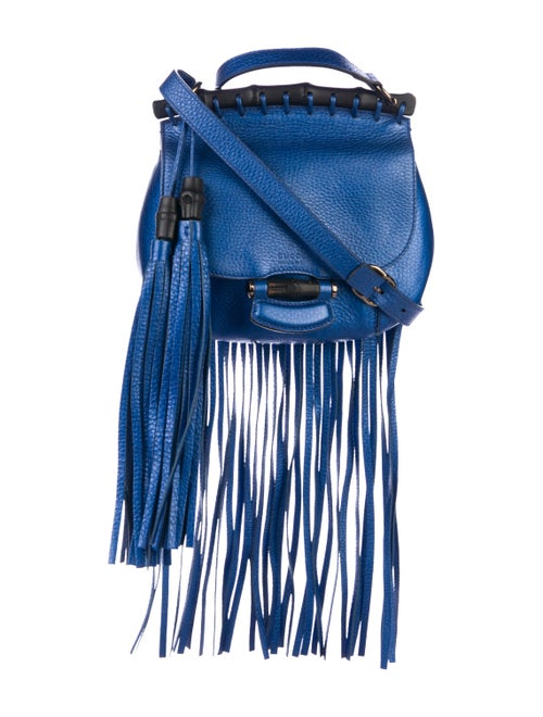 eeb0dded5377 Gucci Small Nouveau Fringe Bag - Handbags - GUC291061 | The RealReal