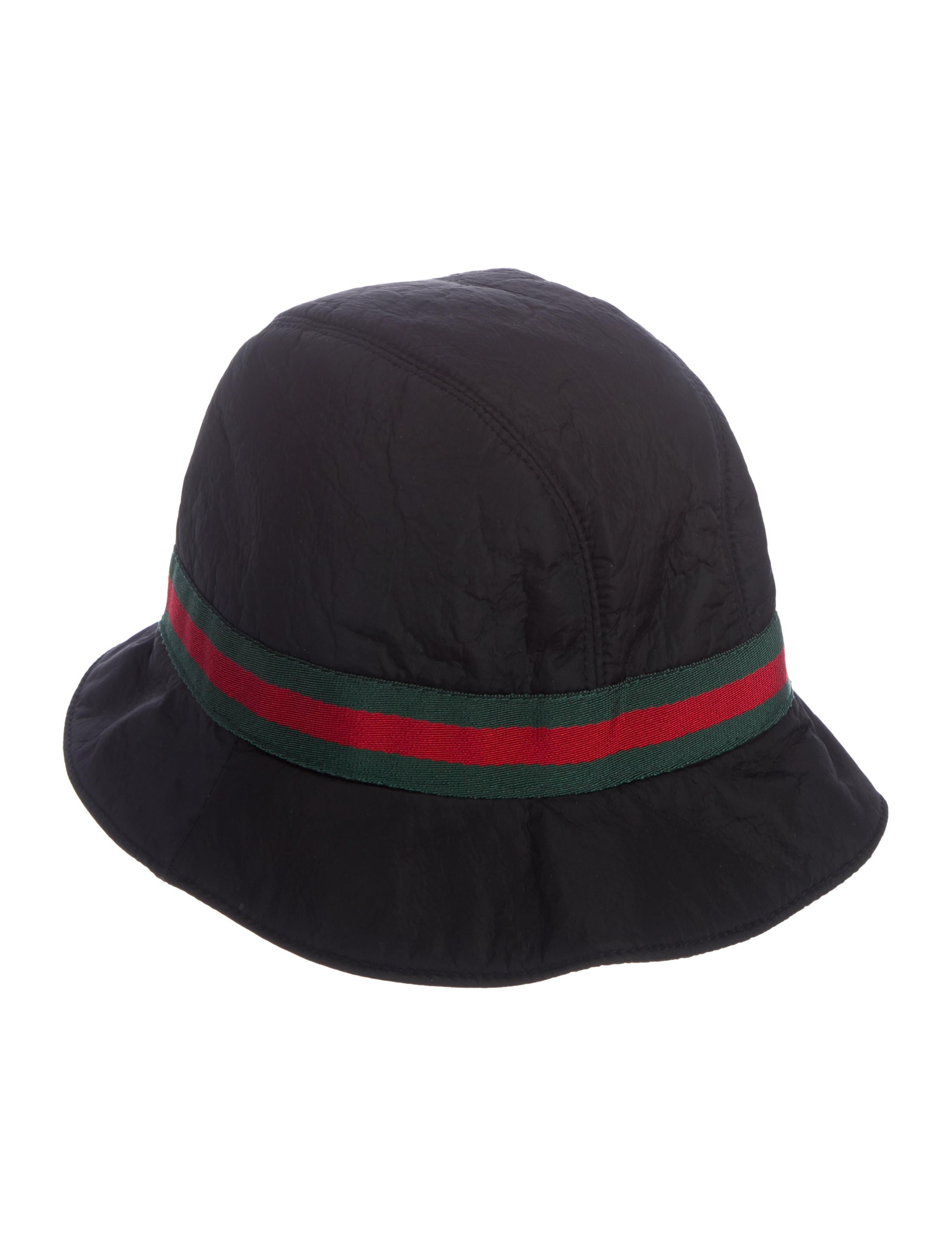 615caef1a8ec Gucci Web Bucket Hat - Accessories - GUC292028