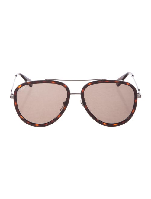 4e4e738f0b Gucci Tortoiseshell Aviator Sunglasses - Accessories - GUC292459 ...