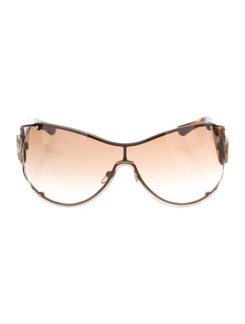 6155b3db801 Gucci Gradient Shield Sunglasses - Accessories - GUC292641