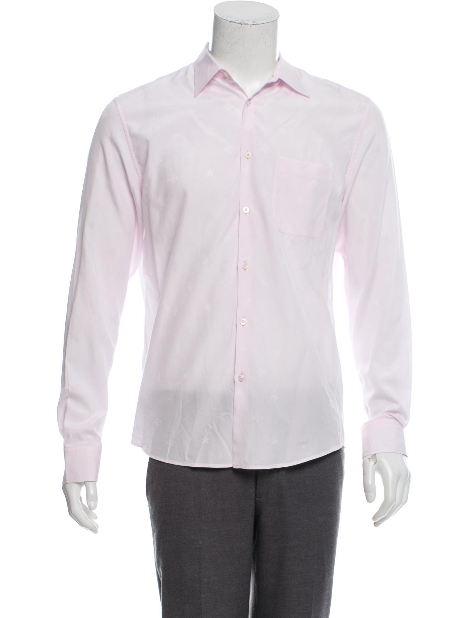 ff07b4cf94d Gucci Bee Jacquard Duke Shirt - Clothing - GUC294805
